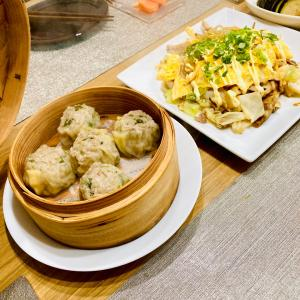 陳皮の香りがたまらない焼売とか最近食べたものとか。