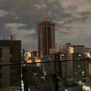 午前3時の大阪夜景は、眠れない!!