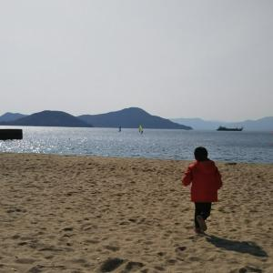 【昨日】海に落ちました…(ヽ´ω`)→【今日】こんな感じです