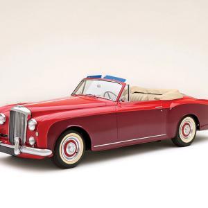 ベントレー S1 コンチネンタル ドロップヘッド クーペ 1956