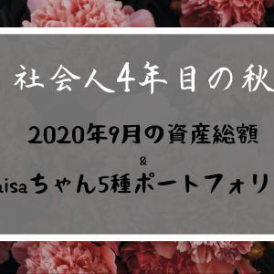 【資産公開】20年9月のnisaちゃんポートフォリオ実績