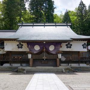 飛騨護國神社(高山市堀端町)