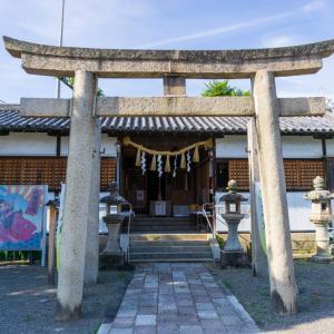 加太春日神社(和歌山市加太)