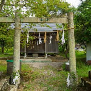 豊岡上天神社(南国市岡豊町常通寺島)