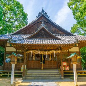 保内八幡神社(西条市円海寺)