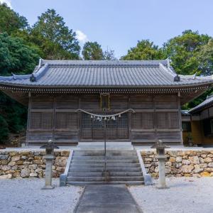 阿志神社(田原市芦町柿ノ木)