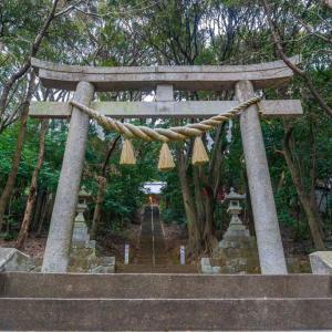 久麻久神社(西尾市八ツ面町麓)