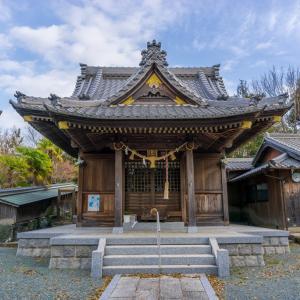 久麻久神社(西尾市熊味町山畔)