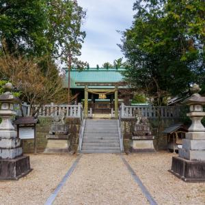 稲前神社(岡崎市稲熊町字森下)