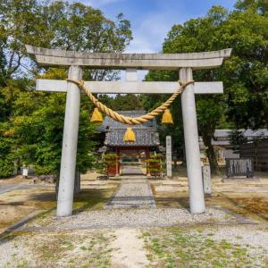 謁播神社(岡崎市東阿知和町字北山)