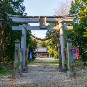和志取神社(岡崎市西本郷町字御立)