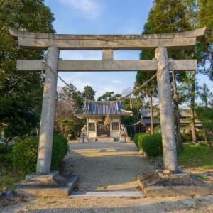 日長神社(安城市高木町鳥居)