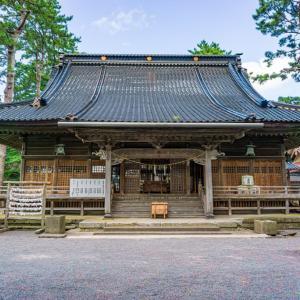 重蔵神社(輪島市河井町)