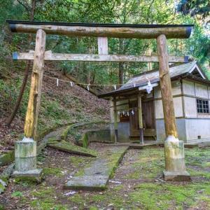 磐坂神社(三好市池田町シンヤマ)