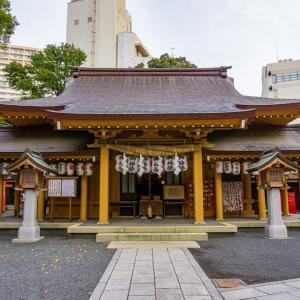 小梳神社(静岡市葵区紺屋町)