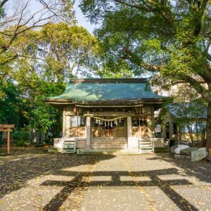 伊河麻神社(静岡市駿河区稲川)