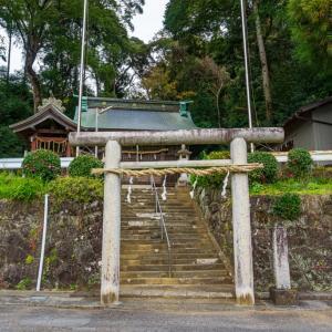 豊由気神社(静岡市清水区庵原町)