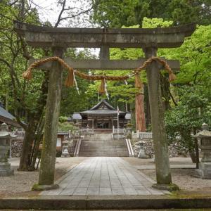 気多若宮神社(飛騨市古川町上気多)
