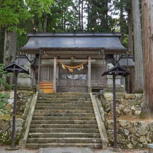 高田神社(飛騨市古川町太江)