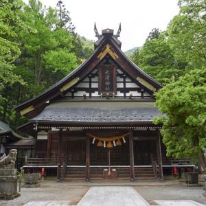 大津神社(飛騨市神岡町船津)