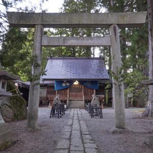 荏名神社(高山市江名子町)