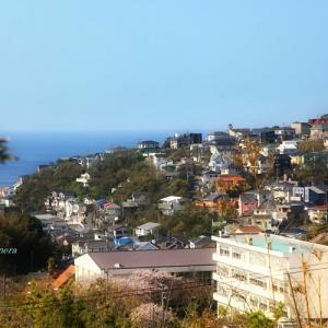 鎌倉山から七里ヶ浜へ