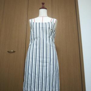 夏の終わりに真夏の服を作ってみた