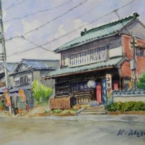 矢掛宿風景