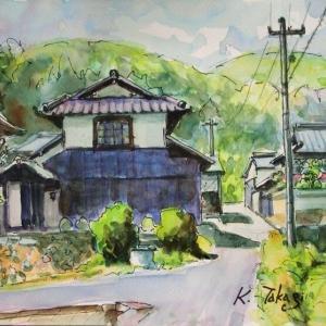 江尻の家並みⅥ