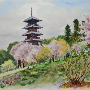 春の国分寺
