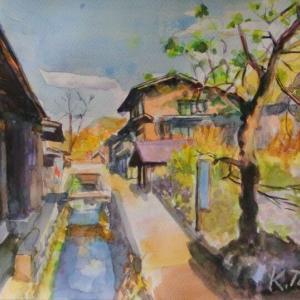 高山合掌村内風景