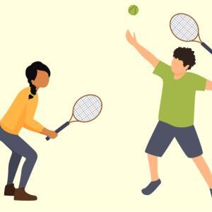 テニスのコツ【回転を意識しよう】