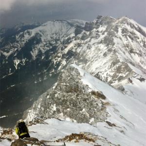 赤岳(八ヶ岳)    2013年3月8日  いきなり冬の赤岳! しかも日帰りで…(2回目、日帰り登山)