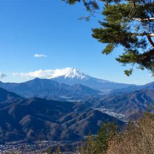 【百蔵山〜扇山】2014年12月18日 秀麗富嶽十二景。あっちもこっちも絶景富士山! (日帰り登山)