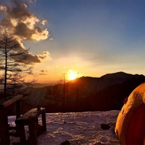 【雲取山】2015年2月12日〜13日 初ソロテン! 風にも謎の足音にも負けず完遂!(テント泊登山)