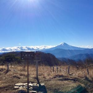 【大蔵高丸】2015年12月29日 湯ノ沢峠まで長し…。でも絶景の秀麗富嶽!《日帰り登山》