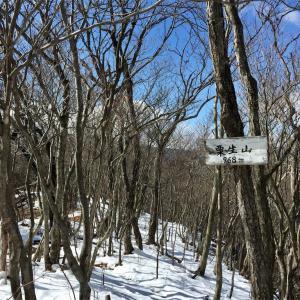 【栗生山】2016年3月15日 本当は展望のよい山。展望台分からず残念…[日帰り登山]