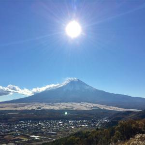 【杓子山】鳥居地峠からピストン。富士山どーんに感動!《日帰り登山》2016年11月9日