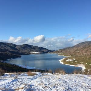 【エビ山】冬の野反湖!ユルめハイク。山頂から絶景が広がります!《日帰り登山》2016年11月25日