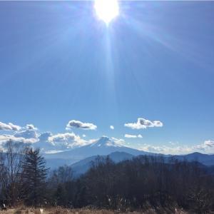 【雁ヶ腹摺山】金山鉱泉からの、姥子山にも登頂。でも道にも迷い下山は暗くなっちゃっいました…《日帰り登山》2016年12月16日