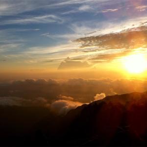 木曽駒ヶ岳〜宝剣岳〜空木岳    2012年8月16日〜18日    小屋泊登山