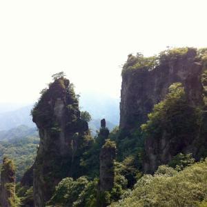 妙義山  中間道  2012年8月30日  日帰り登山