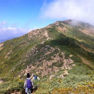 至仏山  2012年10月22日  日帰り登山