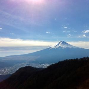 三ツ峠山    2012年11月29日  日帰り登山