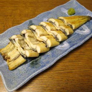 ◆国産鰻の白焼き/国産鰻の肝串/切り干し大根/野菜サラダ◆