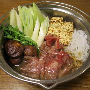 ◆葉山牛の牛すき鍋/ハマフエフキの刺身/桜海老の山椒くぎ煮/野菜サラダ◆