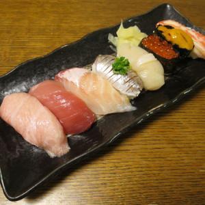 ◆特上寿司/しいたけ肉詰めフライ/揚げ出し豆腐/野菜サラダ◆