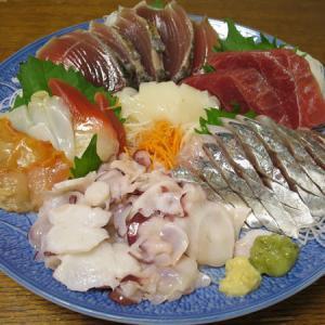 ◆刺身盛合わせ/ネギ玉/えのきバター/野菜サラダ◆