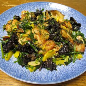 ◆チキンバジル炒め/ニラ玉/クリームチーズの味噌漬け/野菜サラダ◆