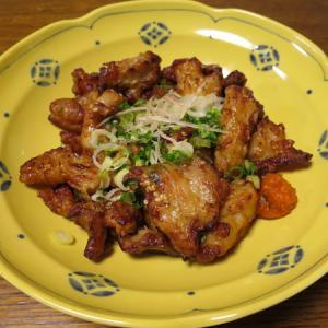 ◆チキンネギ塩炒め/さんまの煮付け/ちくわの天ぷら/野菜サラダ◆